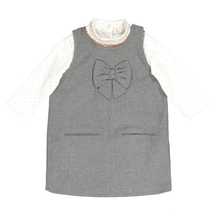 Комплект из платья и футболки, 1 мес. - 3 года  La Redoute Collections image 0