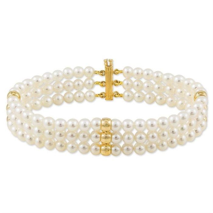 Bracelet or perle de culture jaune Histoire D'or   La Redoute Photos Pas Cher En Ligne Vente D'usine pBs7PRIcU