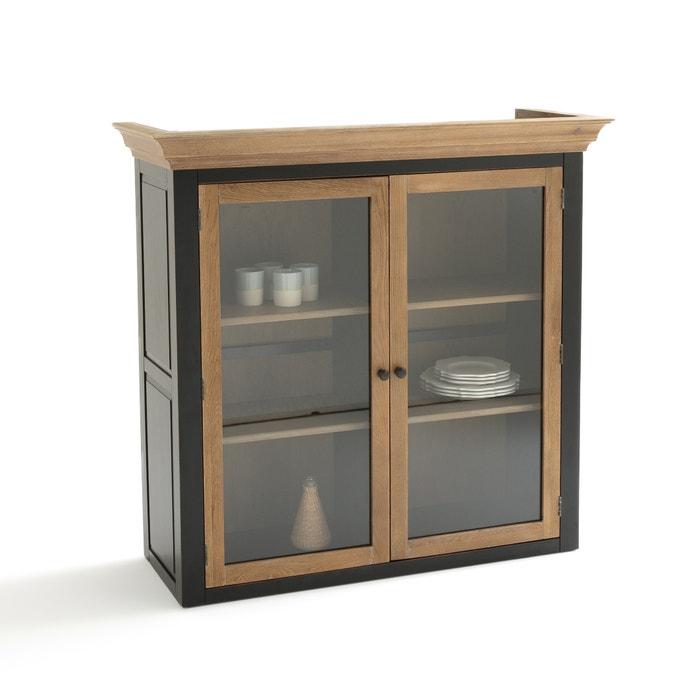 vaisselier de style 2 portes trianon la redoute interieurs ch ne noir la redoute. Black Bedroom Furniture Sets. Home Design Ideas