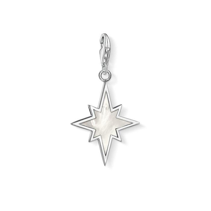 Pendentif charm étoile nacre couleur unique Thomas Sabo   La Redoute Réductions De Sortie n9JWM