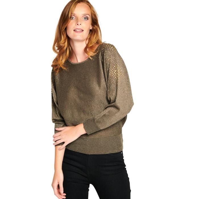 605934bd94556 Sweater en fil textile avec sequins Lolaliza   La Redoute