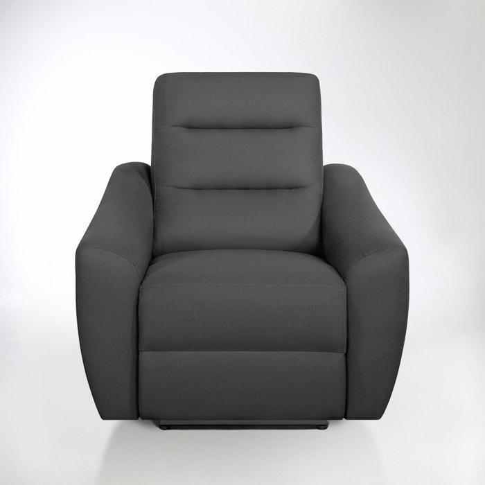 Image Fauteuil de relaxation électrique coton demi-natté, Gedes La Redoute Interieurs