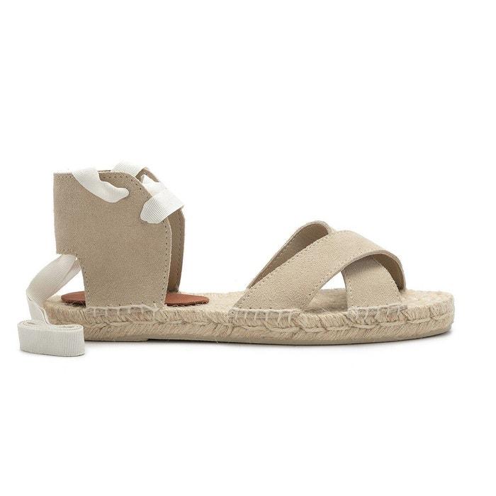 Sandale maria beige Polka Shoes Pas Cher 2018 E7ack3
