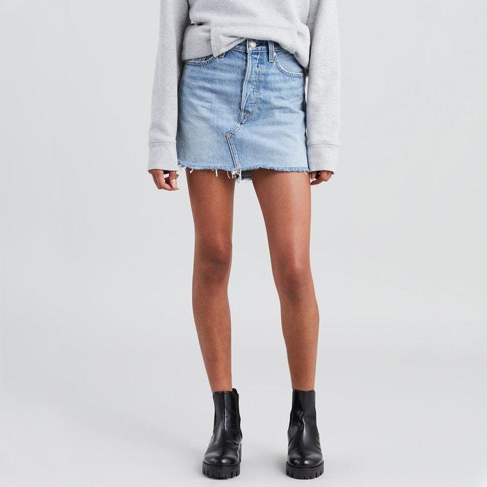 Jupe courte en jean denim, deconstructed skirt Levi s   La Redoute 9344d0a2419f