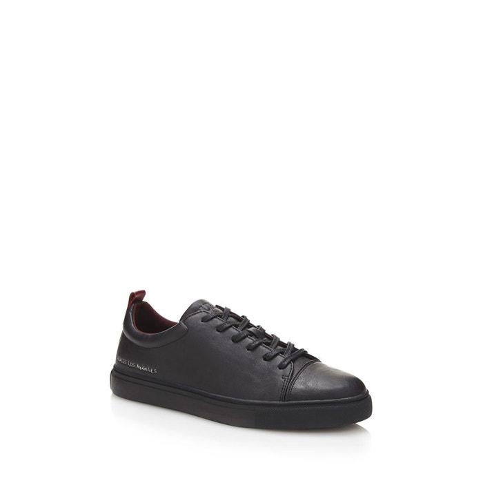 Sneaker a lacets carlos  noir Guess  La Redoute