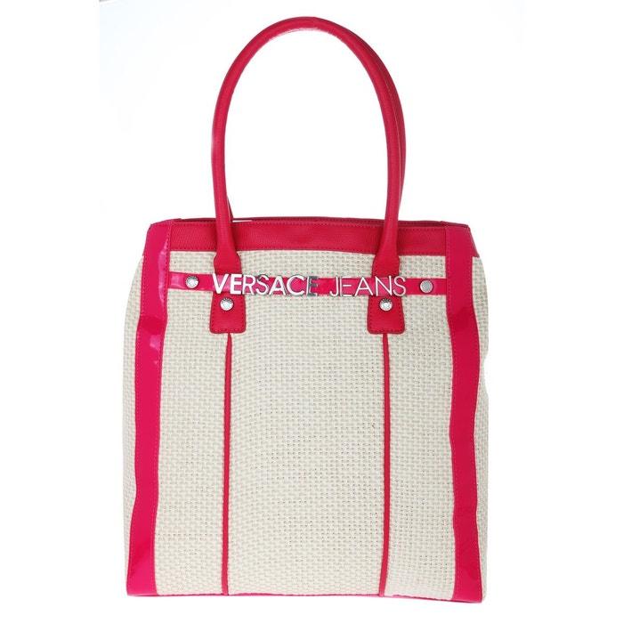 Choix De La Vente Sortie D'usine Shopper tote bag e1vfbbu8 rouge / beige Versace | La Redoute Bonne Vente En Ligne Pas Cher wQNWo