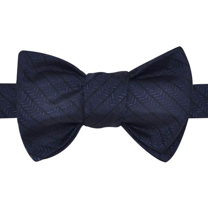 Noeud papillon motif rayures et chevrons bleu nuit et noir bleu nuit Ikonizaboy | La Redoute Meilleure Vente Jeu olAggpwSIi