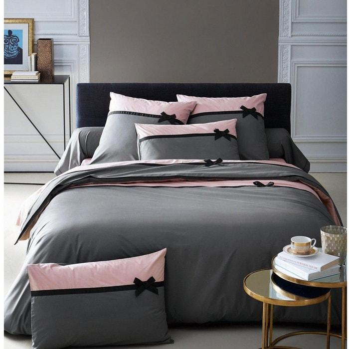 parure de lit frou frou anthracite tradilinge anthracite. Black Bedroom Furniture Sets. Home Design Ideas