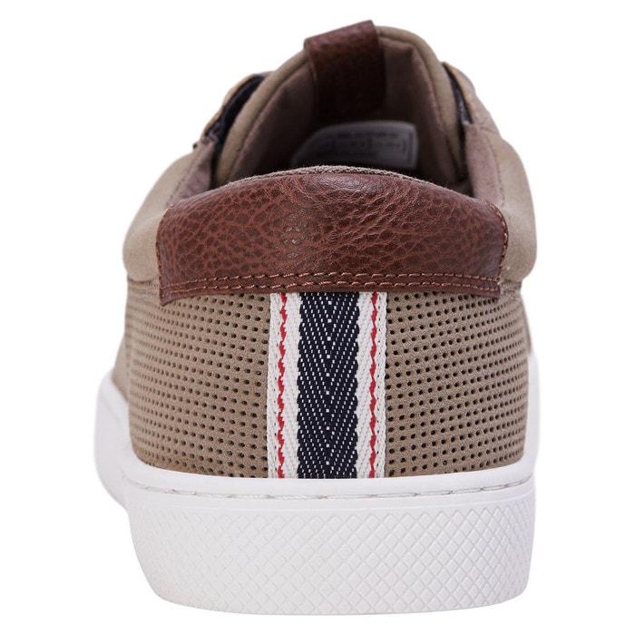 Baskets tendance taupe gray Jack & Jones