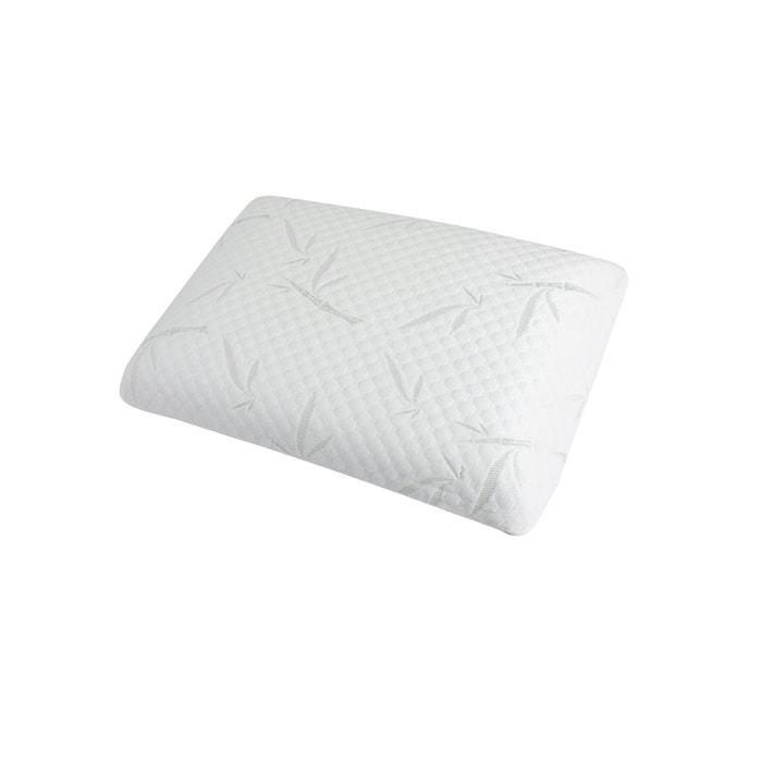 oreiller douceur m moire de forme 40x60 cm blanc rendez vous deco la redoute. Black Bedroom Furniture Sets. Home Design Ideas