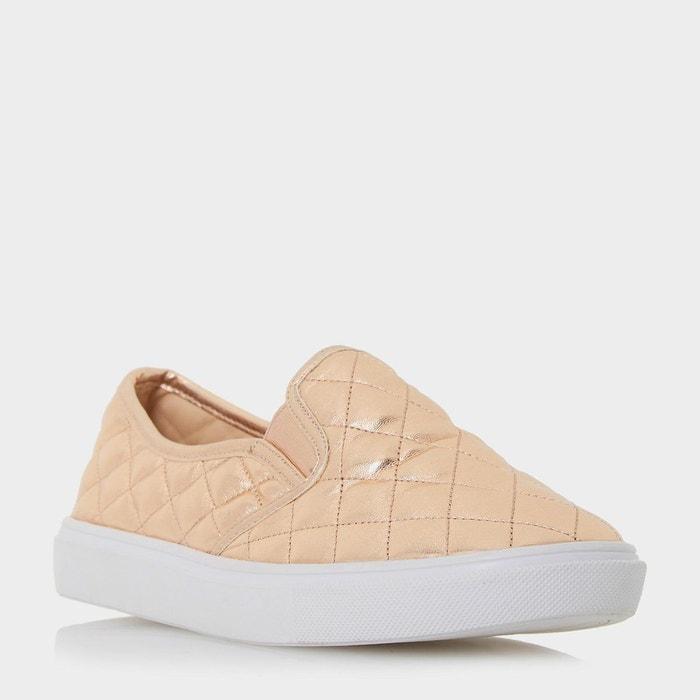 Baskets de skate matelassées à enfiler - elsaa q  or_rose synthétique Head Over Heels By Dune  La Redoute