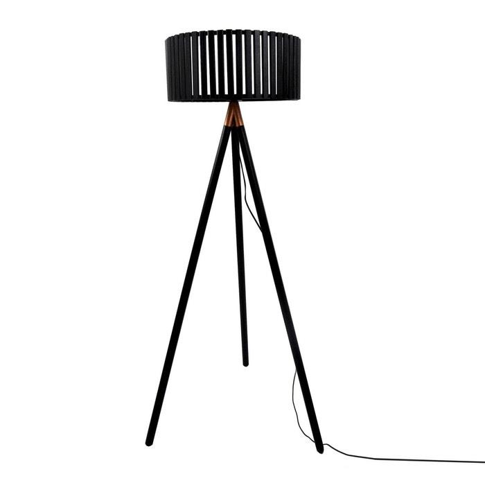 lampadaire tr pied dolga noir rendez vous deco la redoute. Black Bedroom Furniture Sets. Home Design Ideas