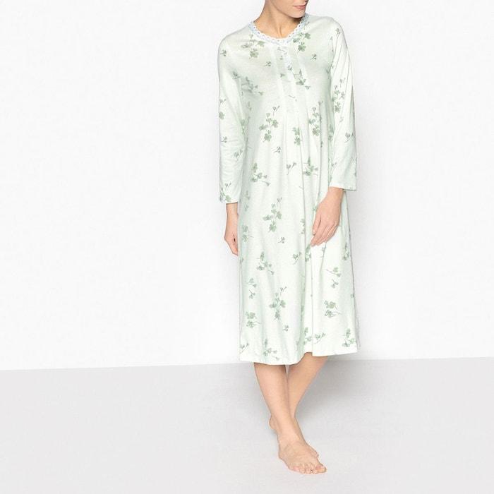 Chemise de nuit en coton peigné  ANNE WEYBURN image 0