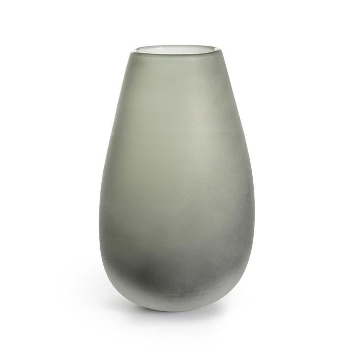 Vase verre givré H28 cm Callipe  AM.PM image 0