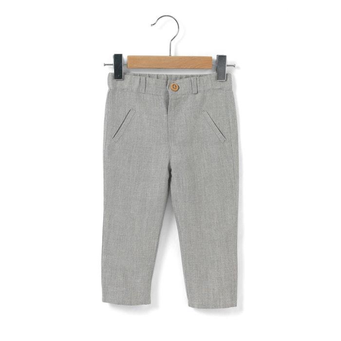 Imagen de Pantalón chino lino/algodón 1 mes - 3 años R mini