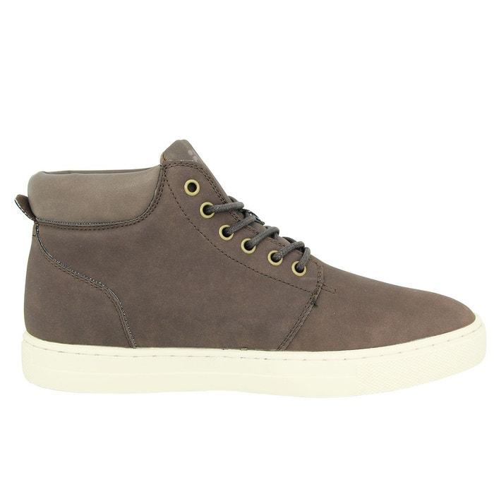 cuir sneakers mode homme chaussures mid marron Fila marron Fila byram suede 4fqwYH6