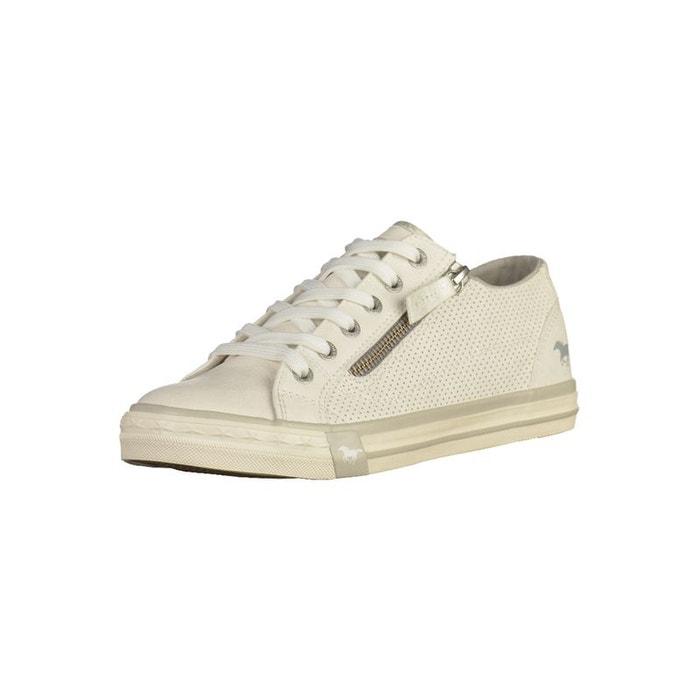 new york 490b8 57a7e Sneaker blanc Mustang La Redoute GH8HUA1Z - destrainspourtou