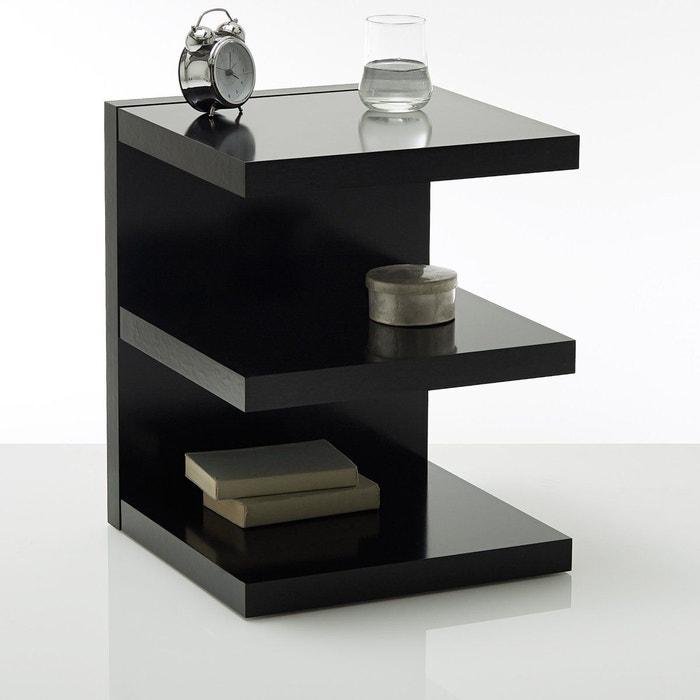 Chevet forme e ylex la redoute interieurs la redoute for Table de chevet cube lumineux