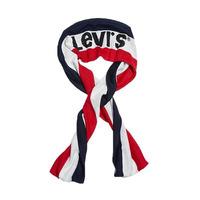 92ac8d4cd5d5 Echarpe levi s sportswear logo à rayures , et bleu Levi s   La Redoute