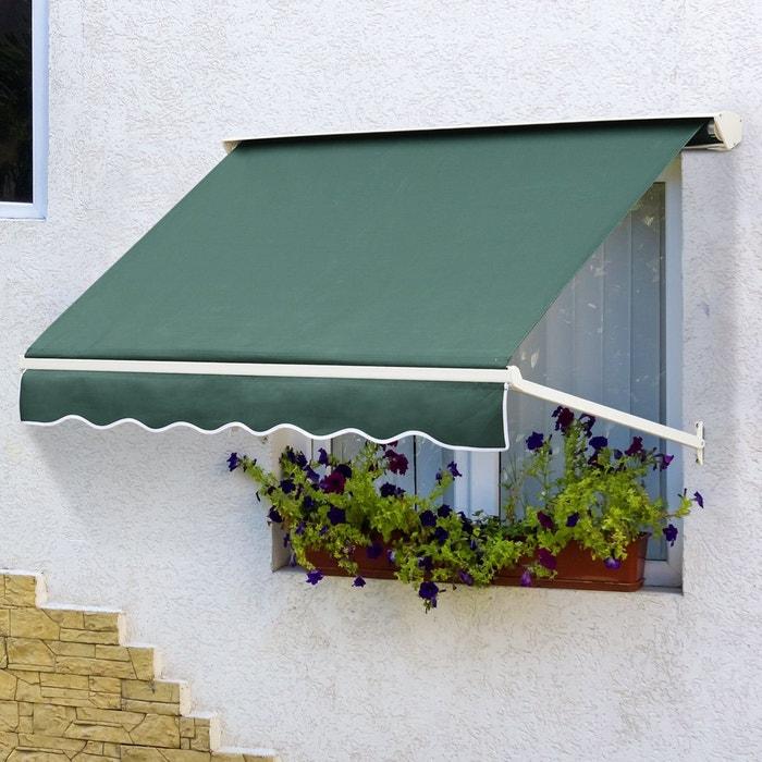 store banne manuel 180l x 132l cm vert vert outsunny la redoute. Black Bedroom Furniture Sets. Home Design Ideas