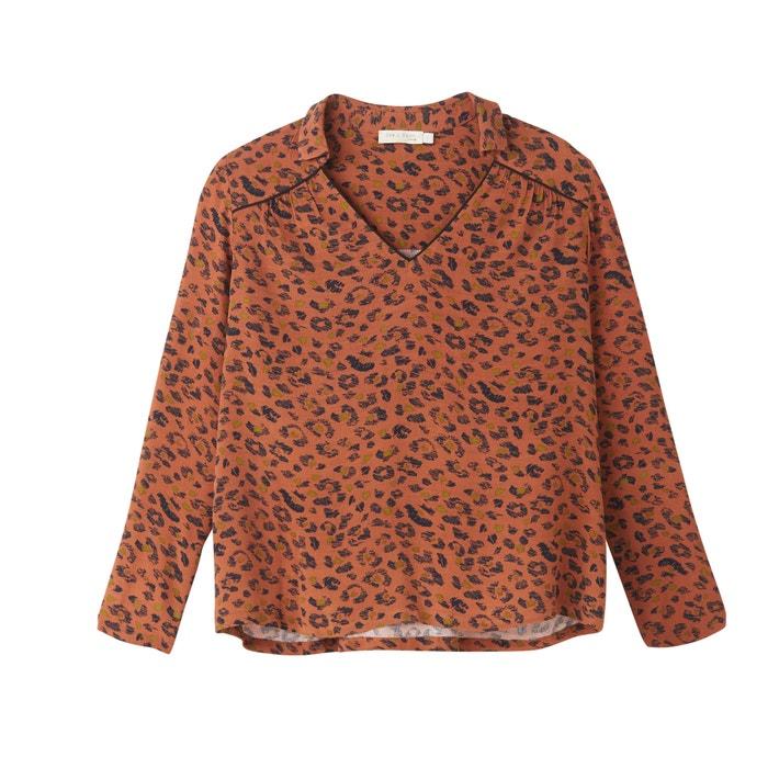 Блузка леопард доставка