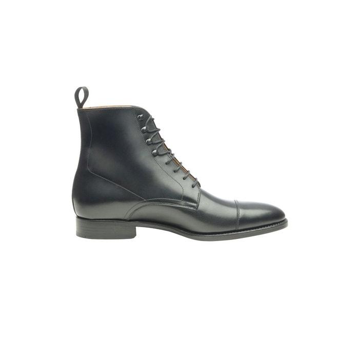 136cc208303cf Boots captoe en noir noir Shoepassion La Redoute WNR775MN -  destrainspourtous.fr