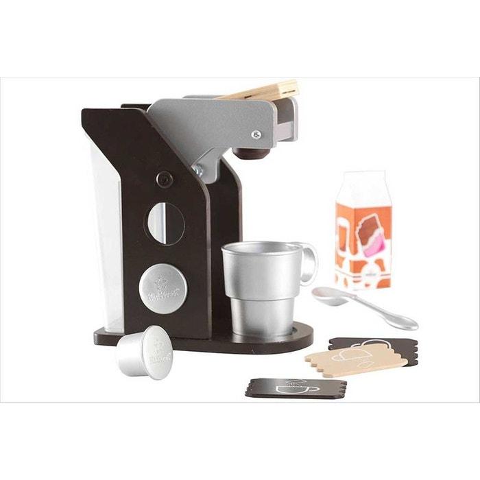 Jouet machine caf en bois espresso couleur unique - Cuisine kidkraft espresso ...
