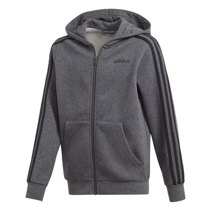 Veste à capuche à 3 bandes Essentials Gris adidas | adidas France