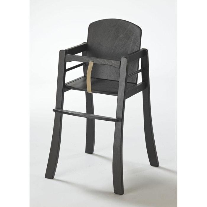 chaise haute b b mucki marron weng geuther couleur unique geuther la redoute. Black Bedroom Furniture Sets. Home Design Ideas