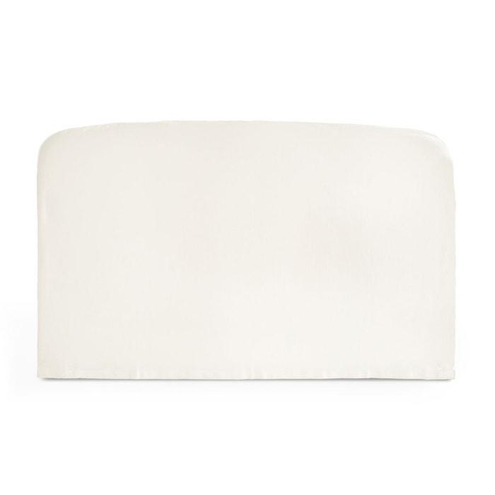 housse pour t te de lit pur coton forme galb e scenario. Black Bedroom Furniture Sets. Home Design Ideas