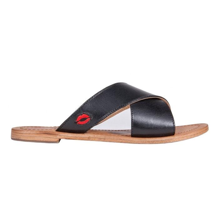 Sandales marcella black Bons Baisers De Paname Vente En Gros En Ligne Livraison Rapide En Ligne Pas Cher KTWOJ