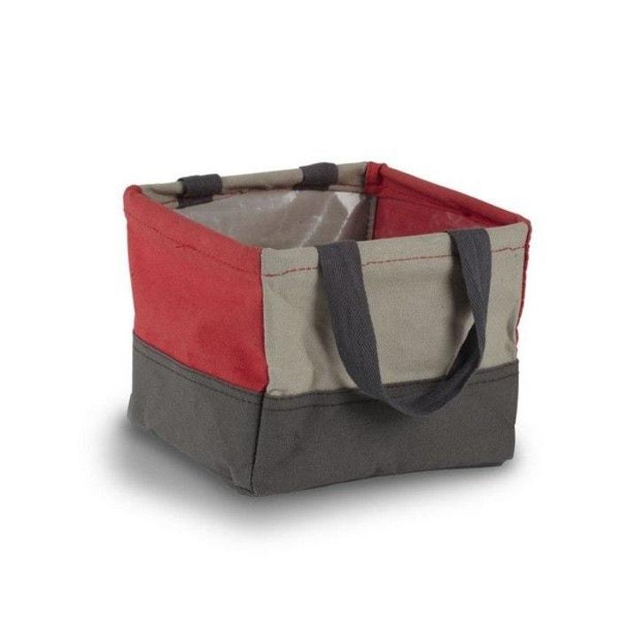 panier tissu rangement salle de bains crunch rouge umbra la redoute. Black Bedroom Furniture Sets. Home Design Ideas