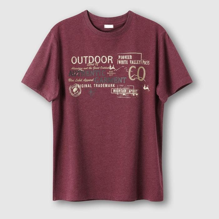 Image T-shirt chiné fantaisie CASTALUNA FOR MEN
