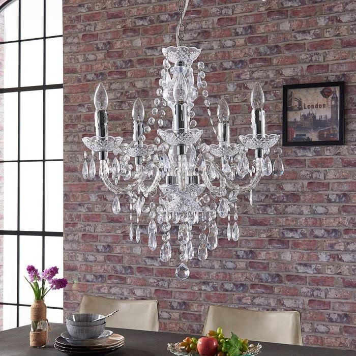 lustre antique merida transparent chrom lampenwelt la. Black Bedroom Furniture Sets. Home Design Ideas
