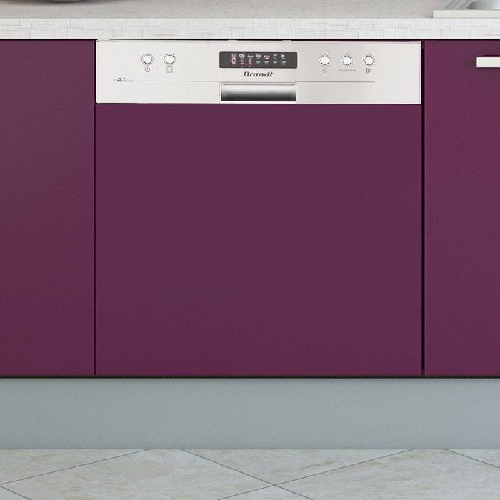lave vaisselle int grable brandt vh1505x silver brandt la redoute. Black Bedroom Furniture Sets. Home Design Ideas