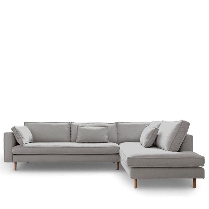 Canapé d\'angle droit tissu stockholm Drawer | La Redoute