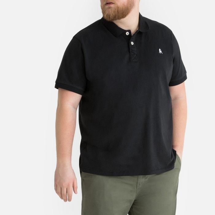 c568d409 Ultra soft cotton jersey polo shirt , black, La Redoute Collections Plus |  La Redoute