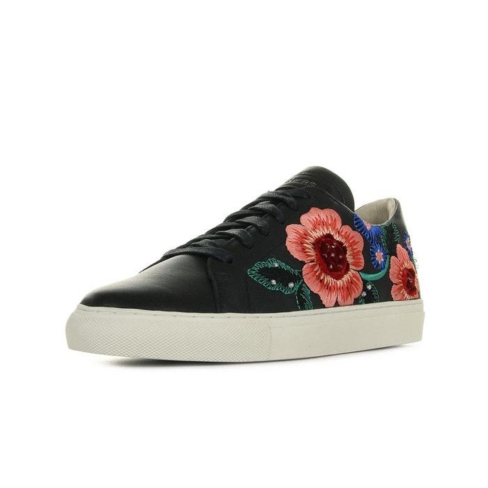 Skechers Vaso Flor noir - Chaussures Baskets basses Femme