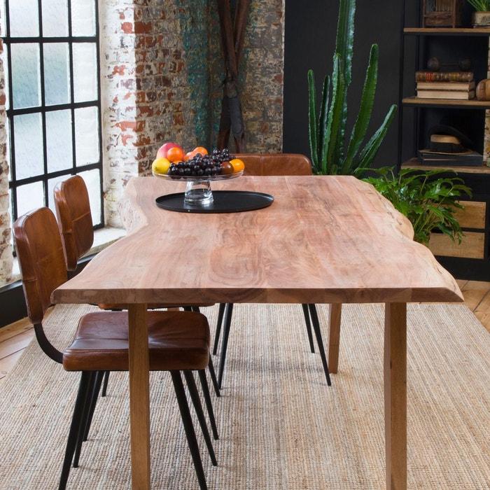 Table A Manger Tout En Bois Tronc D Arbre 180cm Ub20
