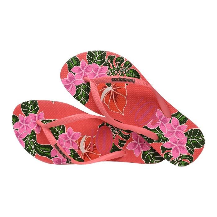 Floral Floral HAVAIANAS Slim Slim HAVAIANAS HAVAIANAS H Tong Tong H Tong 6Sqvn6wd