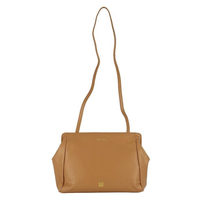 84906243b3 Pochette femme en cuir souple sac à bandoulière amovible avec fermeture  magnétique Dudu | La Redoute