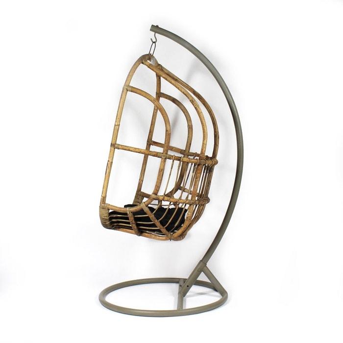 pied m tal gris pour fauteuil suspendu vdl gris fonc made in meubles la redoute. Black Bedroom Furniture Sets. Home Design Ideas