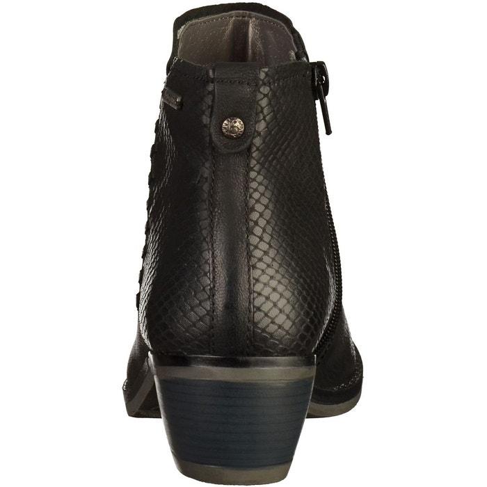 Bottines noir Bugatti