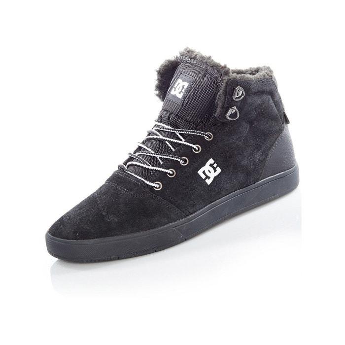 Bottes hiver crisis high - sherpa lined noir Dc Shoes   La Redoute 639669bae49d