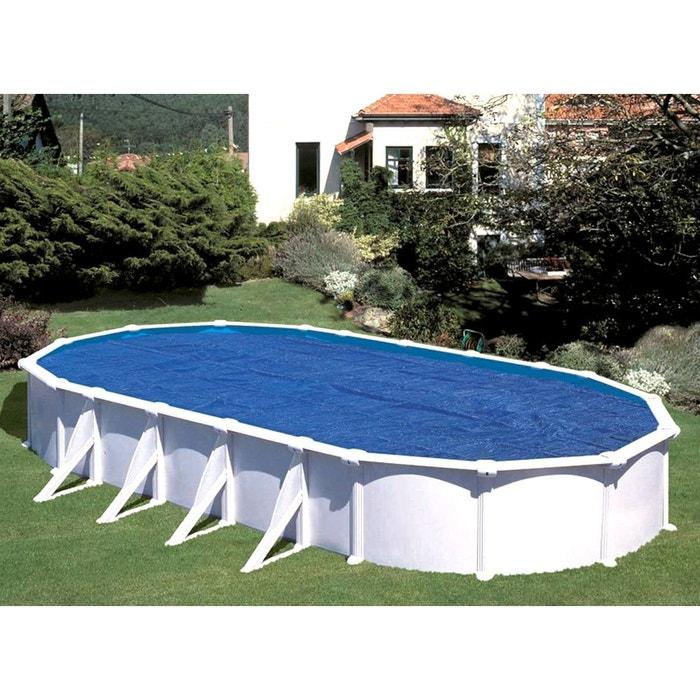 B che bulles gr pour piscine ovale 5 00 x 3 00 m couleur unique gre la redoute for Piscine la redoute