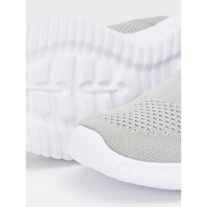 Baskets maille Bianco