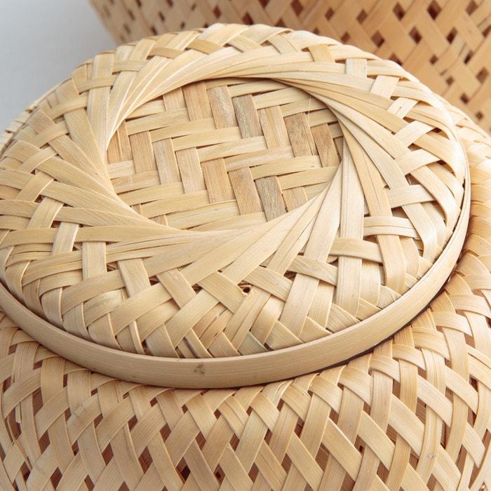 Image Boites en bambou tressé (lot de 2) FALI La Redoute Interieurs