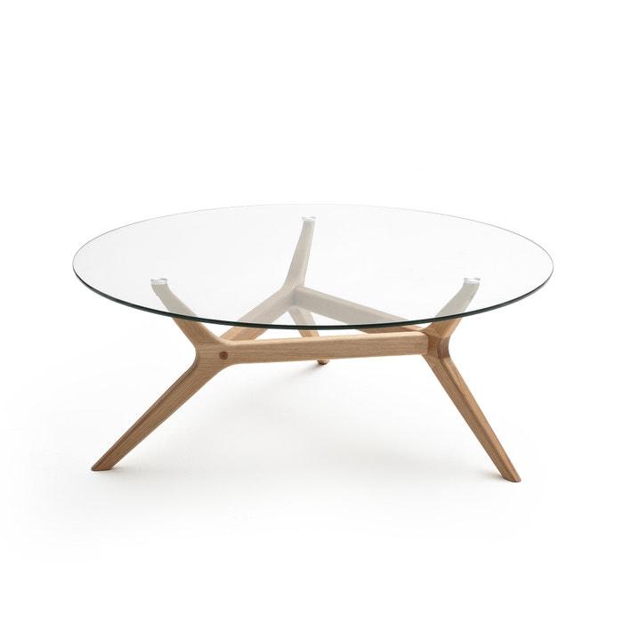 Maricielo Oak Coffee Table Dia90cm  AM.PM image 0