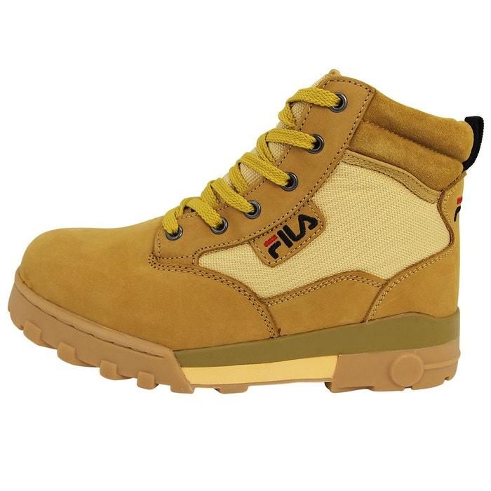 Fila GRUNGE MID Chaussures Bottines Homme Cuir Sue X3ql56KUT