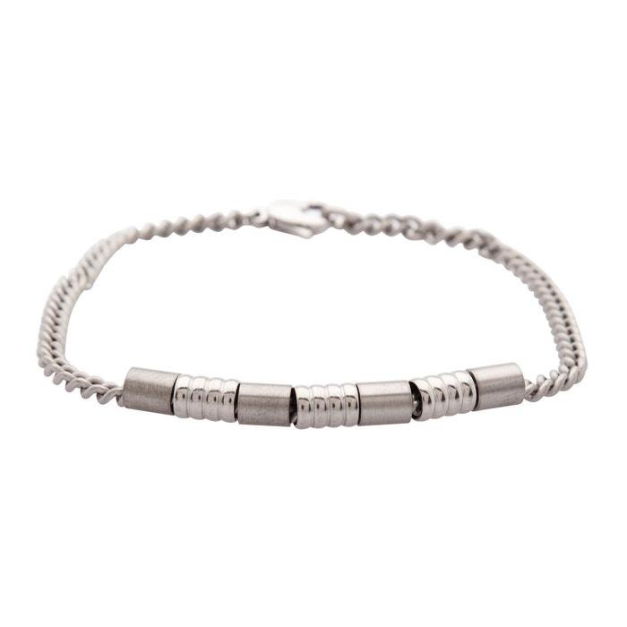 Bracelet gris argent Cem | La Redoute Grand Escompte Où Acheter XmWa7OZ